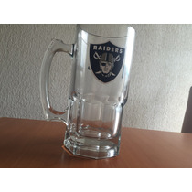 Tarros Cerveceros De Cristal Oakland Raiders Nfl