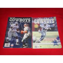 Nfl Dallas Cowboys Lote De 2 Libros De Coleccion 1999 Y 2002