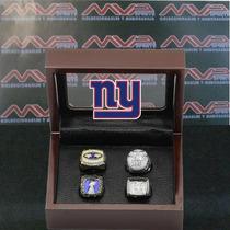 Nfl New York Giants Super Bowl Set Anillos De Campeonato