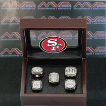 Nfl San Francisco 49ers Super Bowl Set Anillos De Campeonato