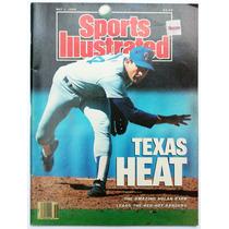 Sports Ilustred May 1 Texas Heat Nolan Ryan Mark Eaton 1989