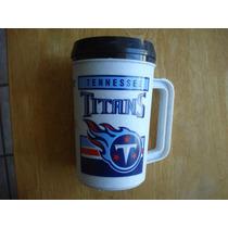 Titans Tennesse Tarro De Plastico Mide 18 Cms