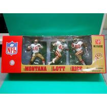 2007 Mcfarlane 3 Pack 49ers Montana Lott Y Rice Dañado