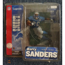 Barry Sanders Nfl Legends Serie 1 Variant Mcfarlane 2005