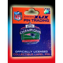 Nfl Pin On Field Campeones Patriotas Nueva Inglaterra