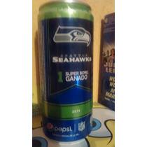 Pepsi Lata Seatle Seahawks Nfl