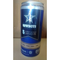 Pepsi Lata Cowboys Nfl