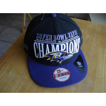Ravens Baltimore Superbowl Xlvii New Era Ajustable Nueva