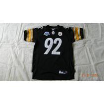 Jersey Firmado James Harrison Steelers