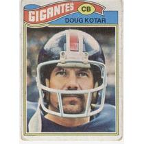 1977 Topps Mexican Doug Kotar Gigantes De Nueva York