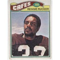 1977 Topps Mexican Reggie Rucker Cafes De Cleveland