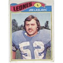 1977 Topps Mexican Jim Laslavic Leones De Detroit