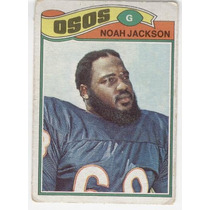 1977 Topps Mexican Noah Jackson Osos De Chicago