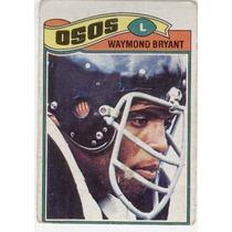 1977 Topps Mexican Waymond Bryant Osos De Chicago