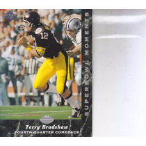 1992 Upper Deck Experience Sb Moments Terry Bradshaw Steeler