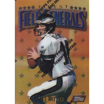 1997 Topps Finest Field Generals Ty Detmer Qb Eagles