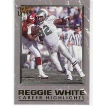 1992 Fleer Ultra Career Highlights Reggie White Eagles