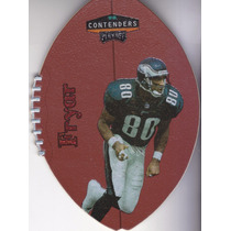 1998 Playoff Contenders Leather Red Irving Fryar Wr Eagles
