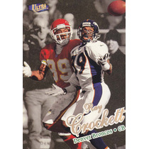 1998 Fleer Ultra Gold Medallion Ray Crockett Cb Broncos