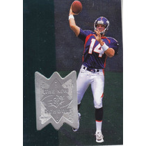 1998 Spx Finite New School Brian Griese Qb Broncos /1700