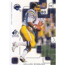 1999 Sp Signature Edition Kellen Winslow Te Chargers