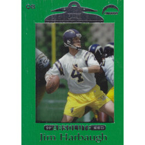 1999 Absolute Ssd Green Jim Harbaugh Qb Chargers