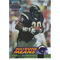 1994 Edge Boss Squad Natrone Means Rb Sd Chargers