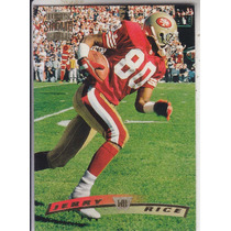 1996 Topps Stadium Club Jerry Rice Wr 49ers