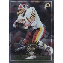 1997 Leaf Fractal Matrix Silver Terry Allen Rb Redskins