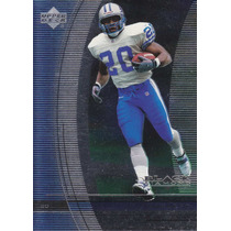 1999 Ud Black Diamond Barry Sanders Rb Lions