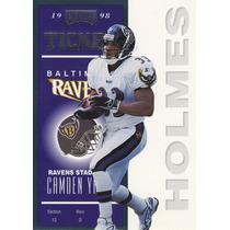 1998 Contenders Rookie Ticket Priest Holmes Ravens