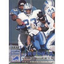1998 Leaf Rookies & Stars Rookie Terry Fair Cb Lions