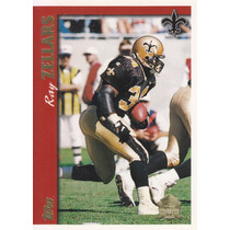 1997 Topps Minted In Canton Ray Zellars Rb Saints