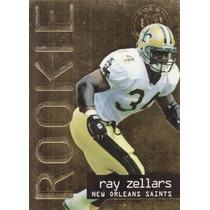1995 Fleer Ultra Gold Medallion Rookie Ray Zellars Rb Saints