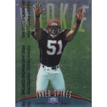 1998 Topps Finest Rookie Takeo Spikes Lb Bengals