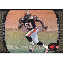 1998 Ud3 Fs Rookie Rainbow Takeo Spikes Lb Bengals