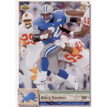 1992 Upper Deck Barry Sanders Detroit Lions