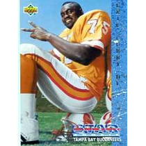 1993 Upper Deck #2 Eric Curry Rc Bucaneros De Tampa Bay