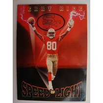 San Francisco 49ers Jerry Rice Tarjeta Cod.4036 Sky Box