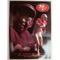San Francisco 49ers Jerry Rice Tarjeta Cod.4028 Sky Box 1993