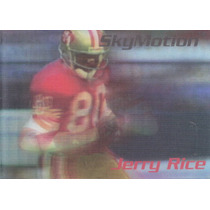1996 Skybox Skymotion Jerry Rice Wr 49ers