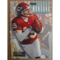Joe Montana Card Sky Box Impact 1994 Ultimate Impact