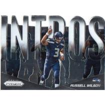 Russell Wilson Insert Prizm 2014 Seahawks Rnt