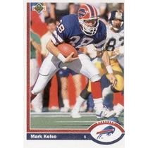1991 Upper Deck Mark Kelso Buffalo Bills