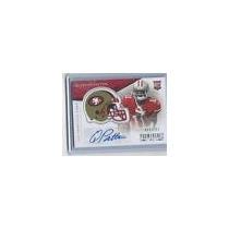 Quinton Patton Tarj C Autografo Prominence 2013 49ers Rnt