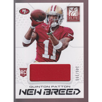 Quinton Patton Tarj C Jersey Elite New Breed 2013 49ers Rnt