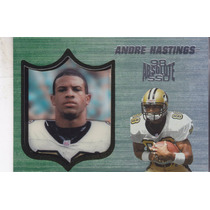 1998 Absolute Ssd Andre Hastings Wr Saints