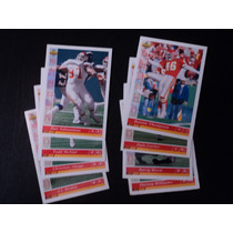 Nfl Chiefs Fan_8tarjetas Set Team-no Repetidas,ud93