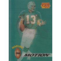 1995 Sportflix Promotion Dan Marino Dolphins Logo Helmet