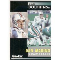 1991 Pinnacle Dan Marino Miami Dolphins
